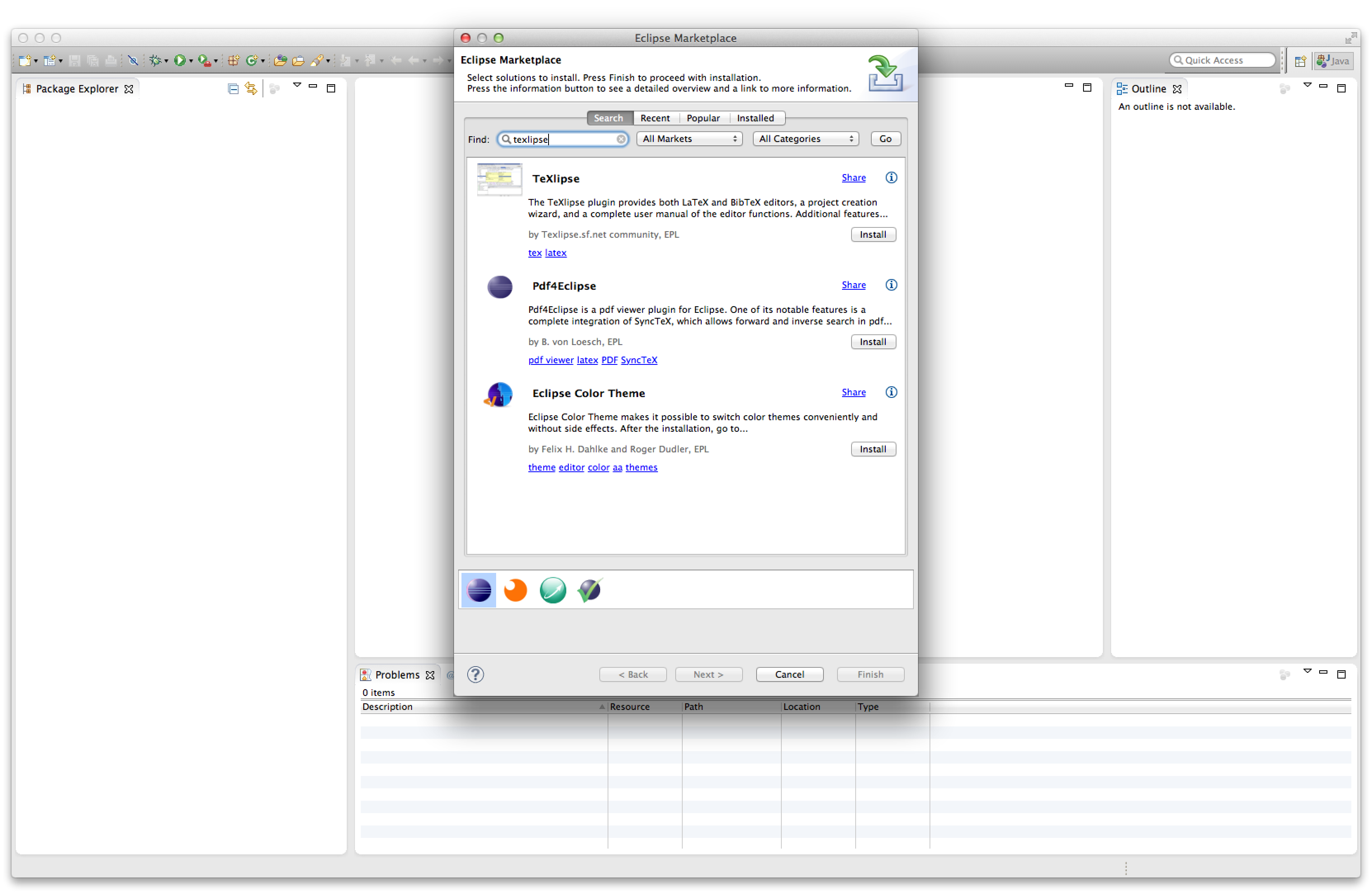 Installing LaTeX, Eclipse and TeXlipse on Mac OS X | Dave's Blog